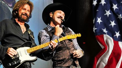 Dreaming In Red, White & Blue, Brooks & Dunn Remind Us Freedom Is Priceless