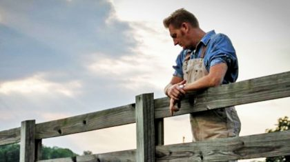 Filled With Emotion, Rory Feek Returns To Where Joey Passed Away