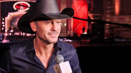 Guess Who Tim McGraw Brought As His Date To The 2016 CMT Awards!