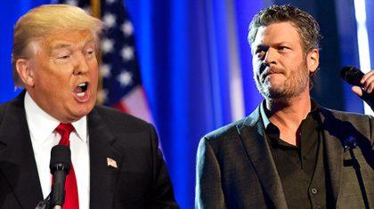 Blake Shelton Exposes His Feelings About Trump