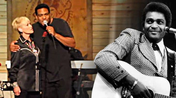 Charley Pride's Son & Lorrie Morgan Deliver Beautiful Tribute With 'Kiss An Angel Good Mornin"