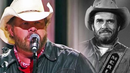 A Teary-Eyed Toby Keith Sings Emotional Medley Of Merle Haggard's Hits