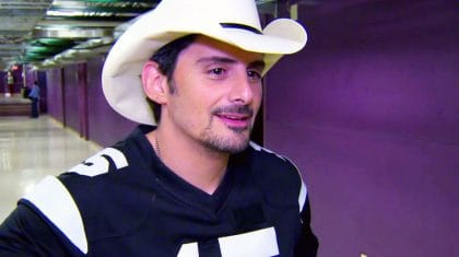 Brad Paisley Praying For Country Star After Stage Accident