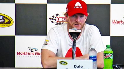 Dale Jr. Opens Up About His Injury, Says He's 'Nervous'