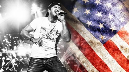 Luke Bryan Is A Patriotic Powerhouse In His Emotional Tribute To Soldiers