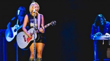 Watch Miranda Lambert Surprise Fans With Bewitching Classic Rock Performance