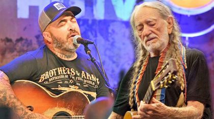 Aaron Lewis' New Duet With Willie Nelson Will Restore Your Faith In Country Music