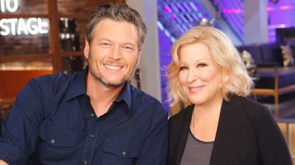 Bette Midler Was Not Blake Shelton's First Choice To Be His 'Voice' Advisor