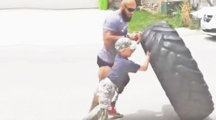 Disabled Veteran Proves To Young Boy That Disabilities Don't Matter