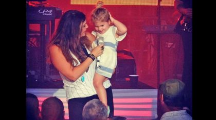 This Country Star's Adorable Daughter Just Made Her Stage Debut – And Stole The Show
