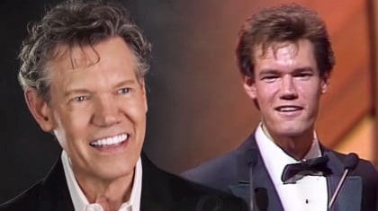 Randy Travis Is All Smiles While Watching Footage From His First CMA Award Win