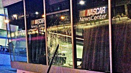 NASCAR Hall Of Fame Under Attack, Damaged & Looted