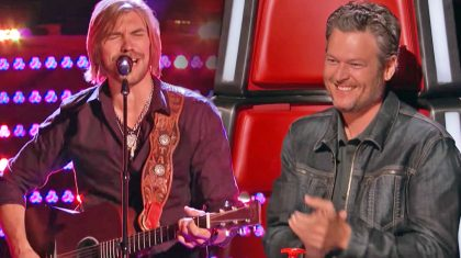 Man Who Used To Open up for Blake Shelton Auditions On The Voice