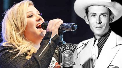 Kelly Clarkson Goes Country In Tribute To Hank Williams' 'Your Cheatin' Heart'