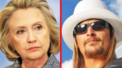 Kid Rock Responds To Being Called Out In Recent Interview With Hillary Clinton