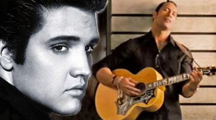 """'The Rock' Does His Best Elvis Impression With """"Are You Lonesome Tonight"""""""