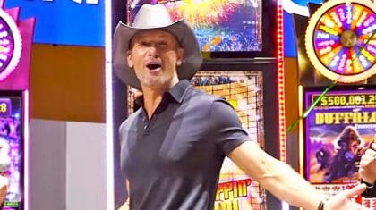Tim McGraw Has A Slot Machine Now, And You Have To See How It Looks