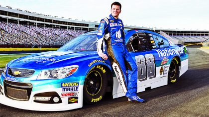 Dale Jr. Takes First Lap Around Talladega Since Concussion