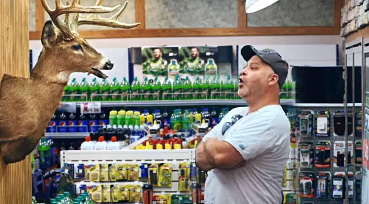 Dale Jr. Poses As A Talking Deer For Mtn. Dew Commercial