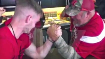 Larry The Cable Guy Snaps Man's Arm In Half