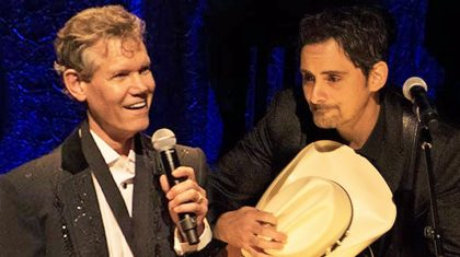 Brad Paisley Offers Touching Tribute To Randy Travis At Country Music Hall Of Fame Induction