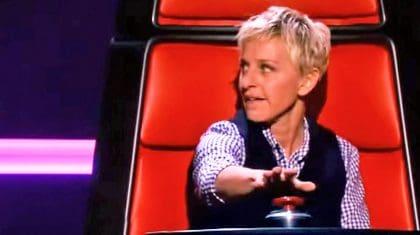 Ellen DeGeneres Fills In For 'Voice' Coach