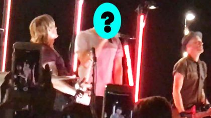 Keith Urban Interrupted In Middle Of Concert By Stage-Crashing Country Singer