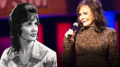 "A Remarkable Look Back On Loretta Lynn's ""Honky Tonk"" Opry Debut"