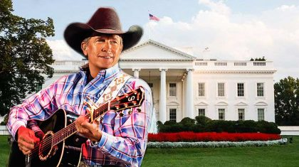 George Strait Sings 'Happy Birthday' To Political Power Couple