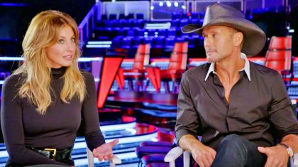 Tim McGraw & Faith Hill Prove They Should Be Coaches On Next 'Voice' Season