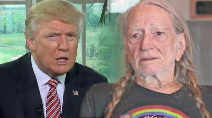 "Willie Nelson Rips Donald Trump For ""Locker Room Talk"" Excuse"