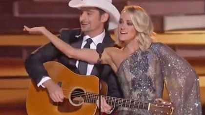 Carrie Underwood & Brad Paisley Take Over CMA Awards With Hysterical Opener