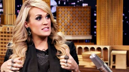 Carrie Underwood Explains Panic Attack During Holiday Tradition