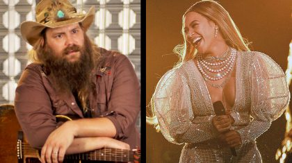 "Chris Stapleton Says He's ""Proud"" Of Beyoncé"