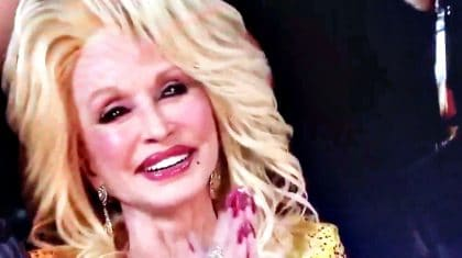 Dolly Parton Brought To Tears During CMA Awards Tribute