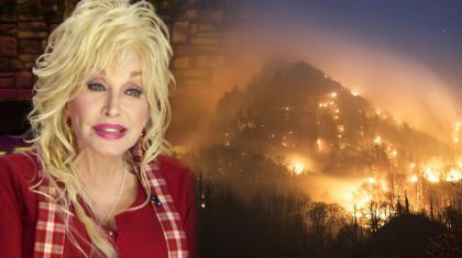 Heartbroken Dolly Parton Issues Statement As Fire Nears Her Hometown
