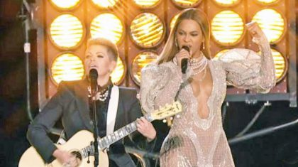 Did Beyoncé & The Dixie Chicks' CMA Performance Have A Hidden Message?