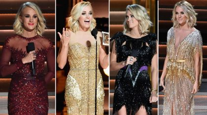Carrie Underwood's Decades-Inspired Wardrobe Changes At The 2016 CMA Awards
