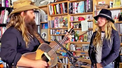 Chris & Morgane Stapleton Will Take Your Breath Away With Acoustic Duet