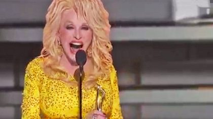 Dolly Parton Comically Accepts Monumental Recognition At 50th CMA Awards