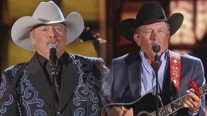 Alan Jackson and George Strait Perform Legendary Duet Of Their Hits