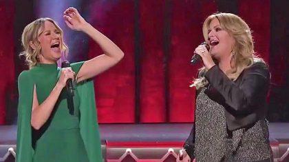 Trisha Yearwood & Jennifer Nettles Spread Christmas Cheer With Jolly Performance