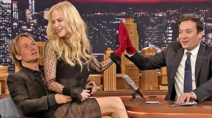 Keith Urban & Nicole Kidman Join Jimmy Fallon For Game That Will Have You Howlin' With Laughter