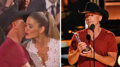Who Was Kenny Chesney's Mystery Date At The CMA Awards?