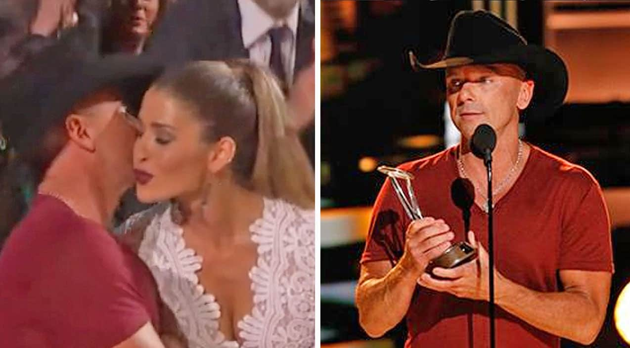 Who Was Kenny Chesney S Mystery Date At The Cma Awards Country Music Nation