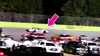 Watch Angry NASCAR Driver Deliberately Crash Into Opponent