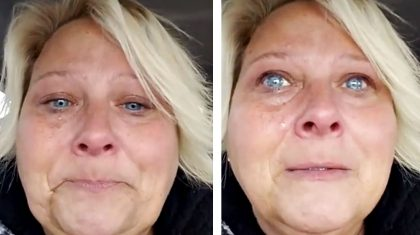 Woman Weeps Uncontrollably After Witnessing Miracle