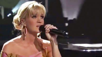 Carrie Underwood Performs Heartbreaking Tribute To George Michael With 'Praying For Time'