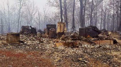 Tennessee Family Who Lost Everything In Wildfires Returns Home To Find A Miracle