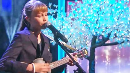 Grace VanderWaal Gives Chilling Makeover To 'Frosty The Snowman'